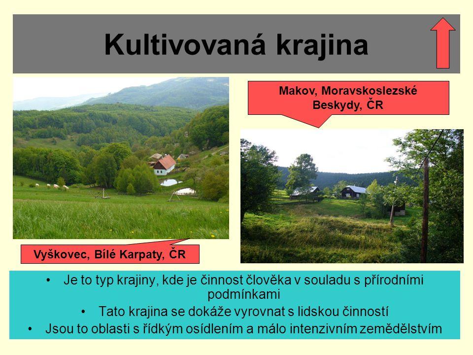 Makov, Moravskoslezské Beskydy, ČR Vyškovec, Bílé Karpaty, ČR