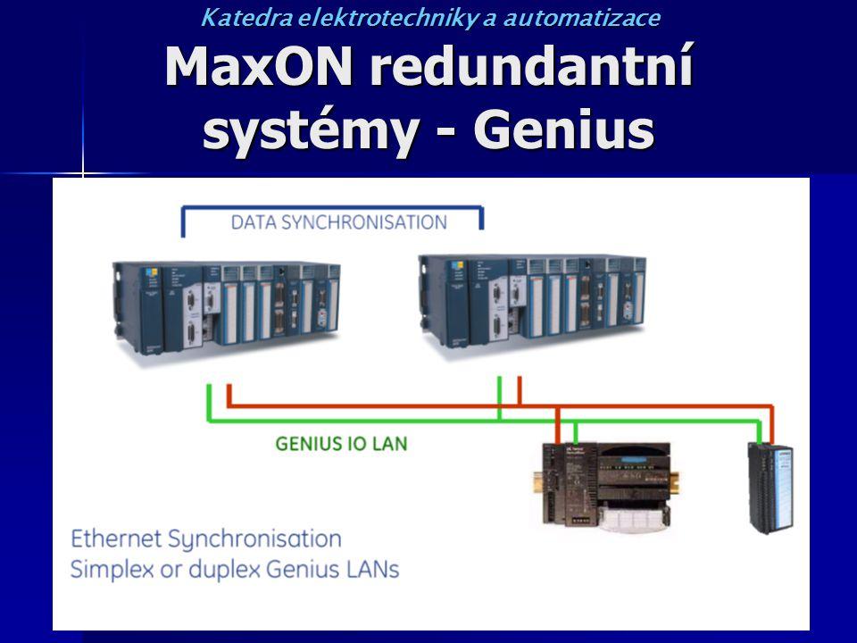 MaxON redundantní systémy - Genius