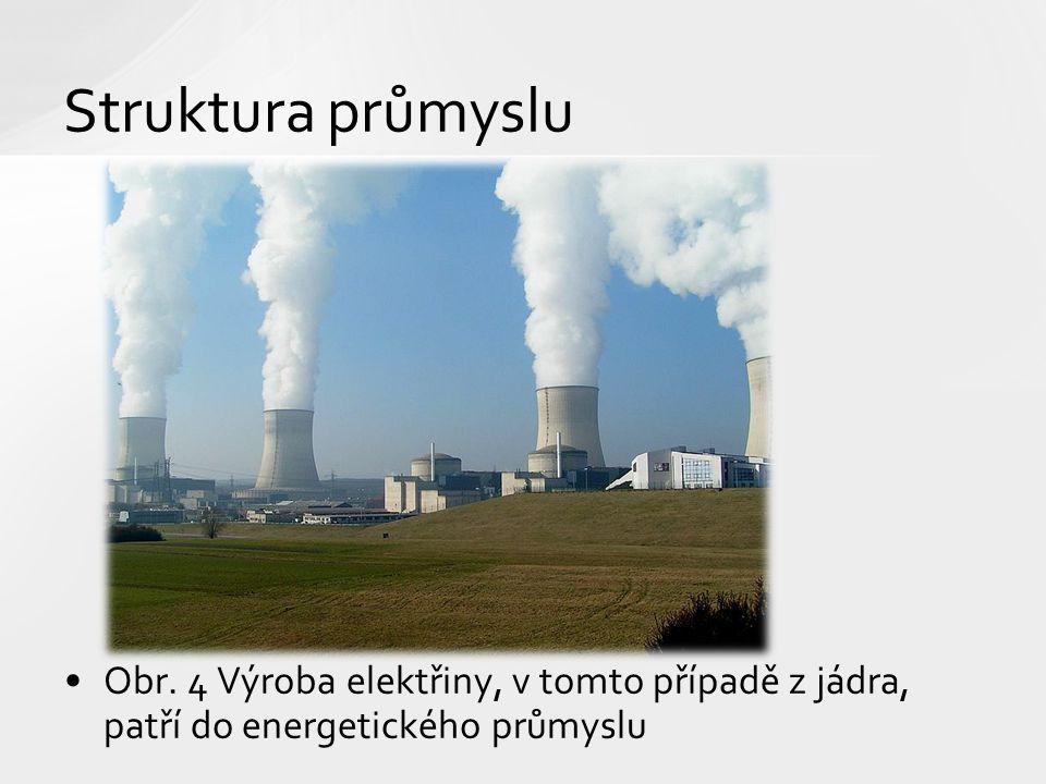 Struktura průmyslu Obr.