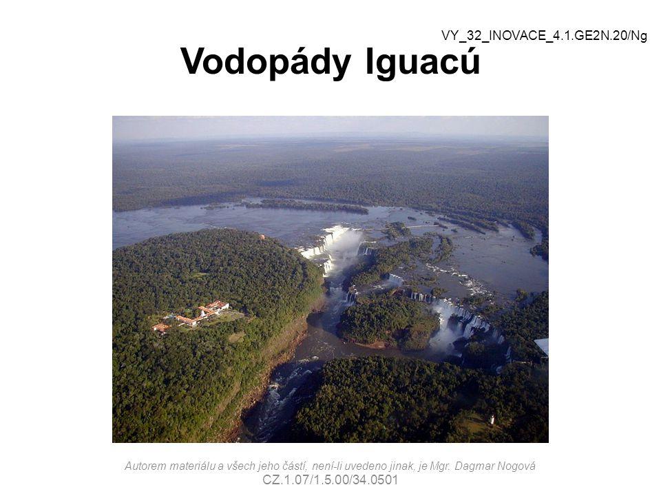 Vodopády Iguacú VY_32_INOVACE_4.1.GE2N.20/Ng