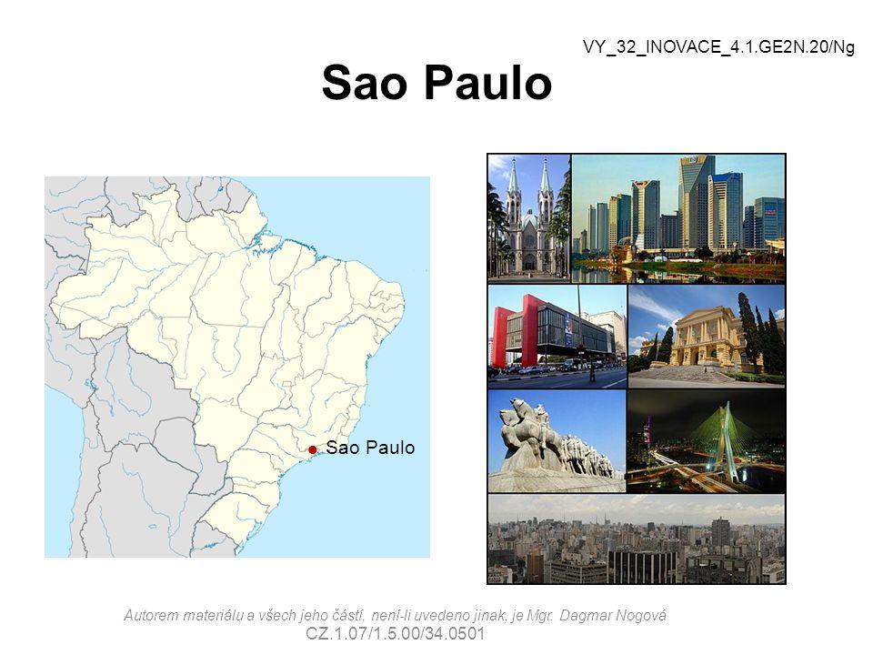 Sao Paulo VY_32_INOVACE_4.1.GE2N.20/Ng