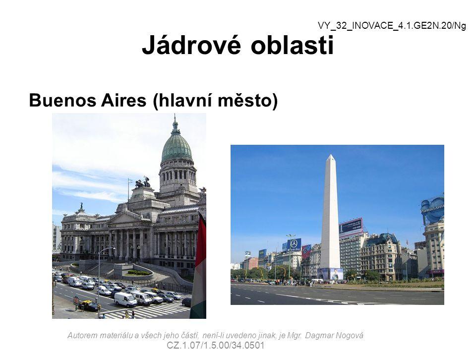 Jádrové oblasti Buenos Aires (hlavní město)