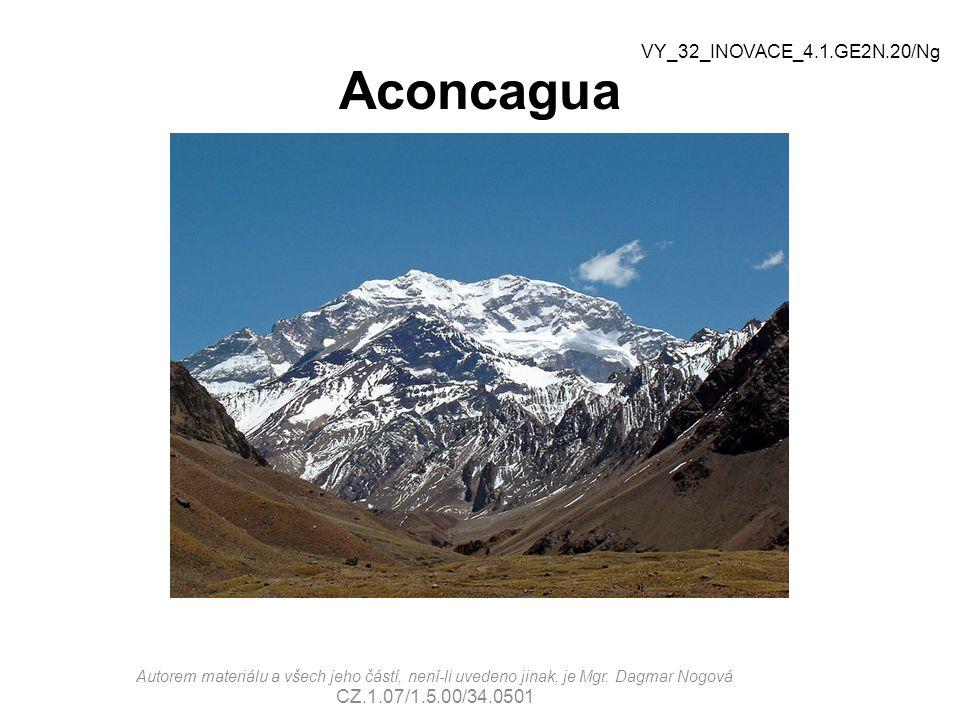 Aconcagua VY_32_INOVACE_4.1.GE2N.20/Ng