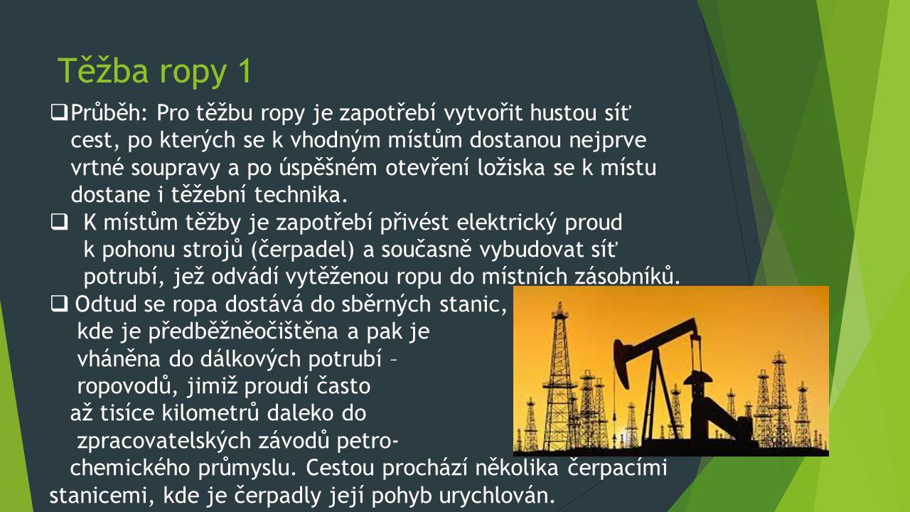 Těžba ropy 1