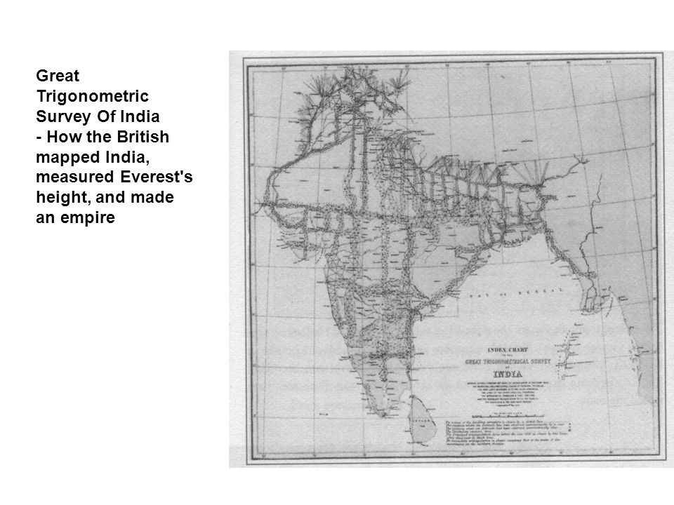Great Trigonometric Survey Of India