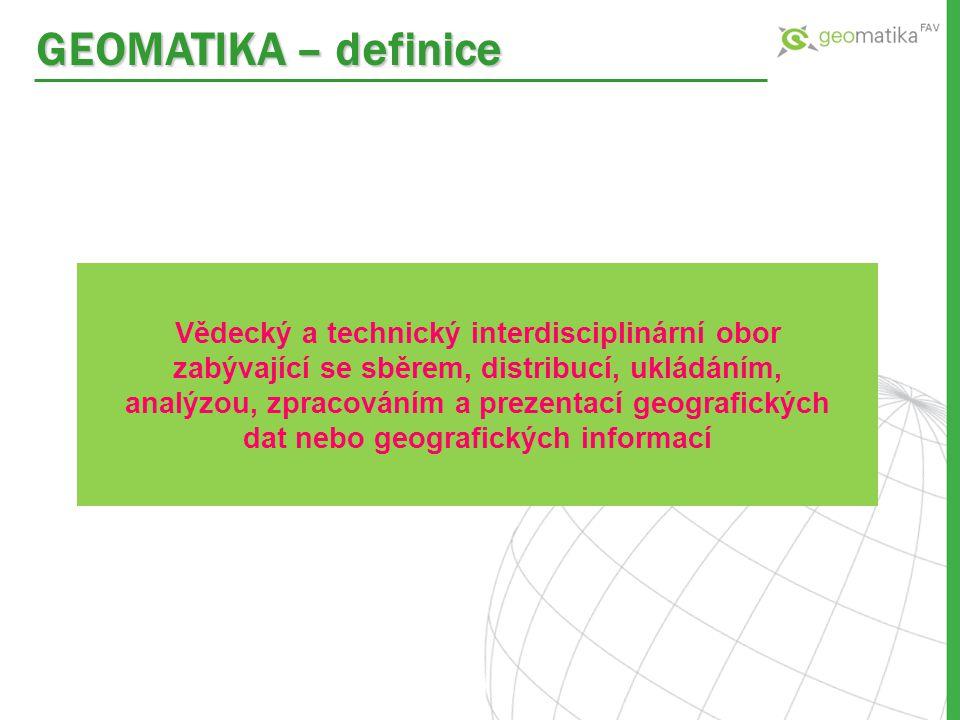 GEOMATIKA – definice
