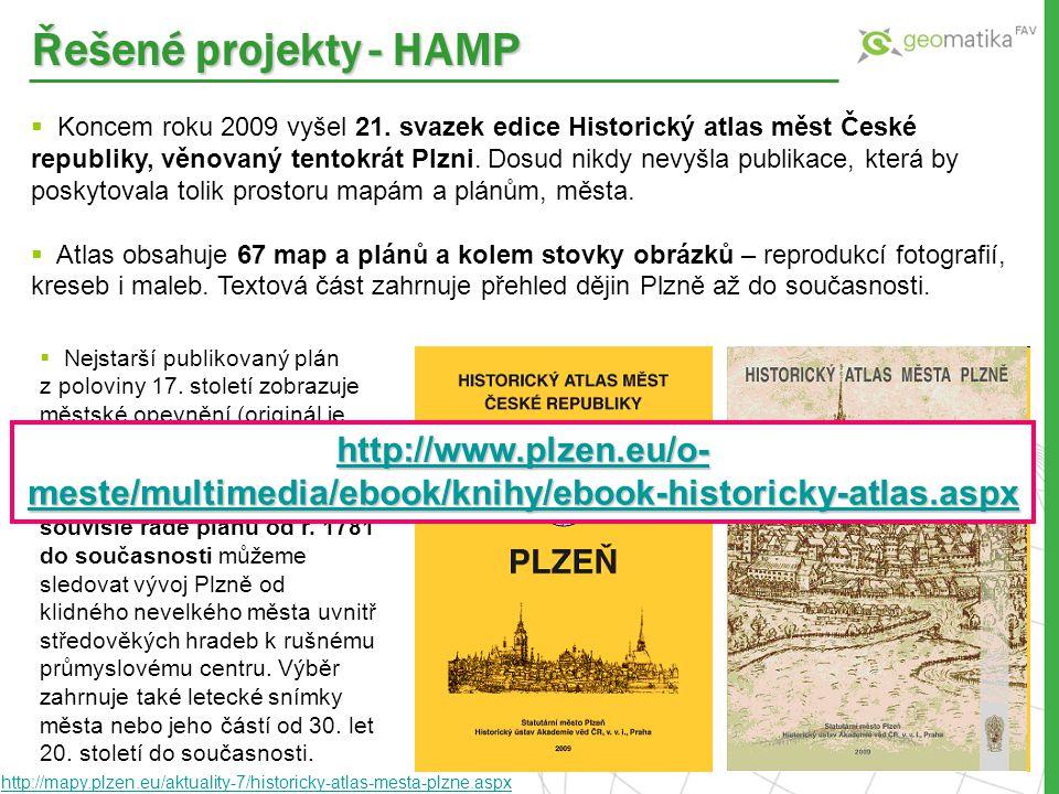 Řešené projekty - HAMP