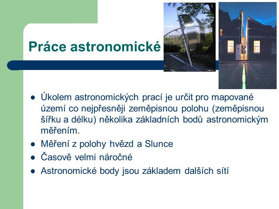 Práce astronomické