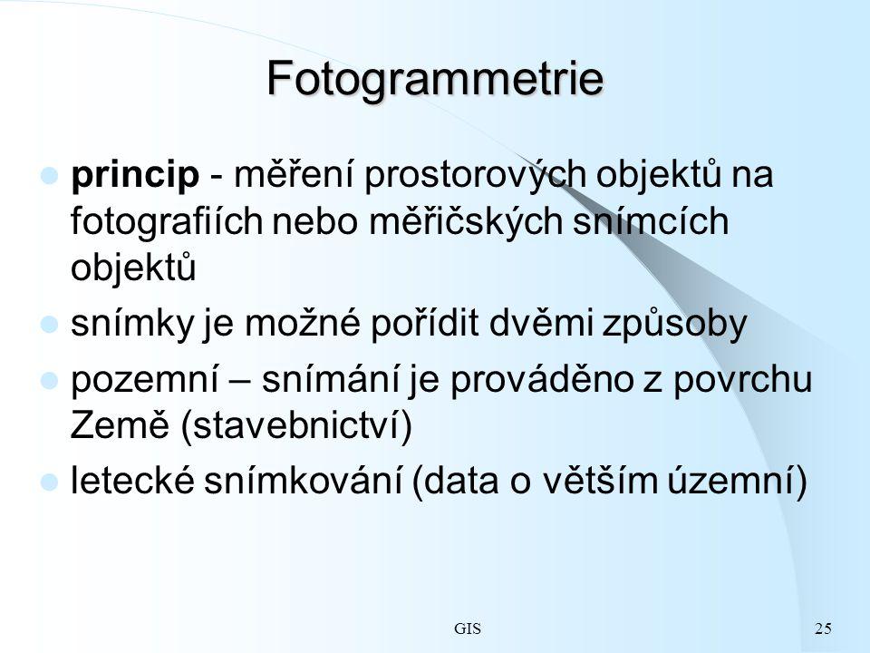 Fotogrammetrie princip - měření prostorových objektů na fotografiích nebo měřičských snímcích objektů.