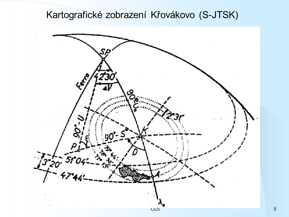 Kartografické zobrazení Křovákovo (S-JTSK)