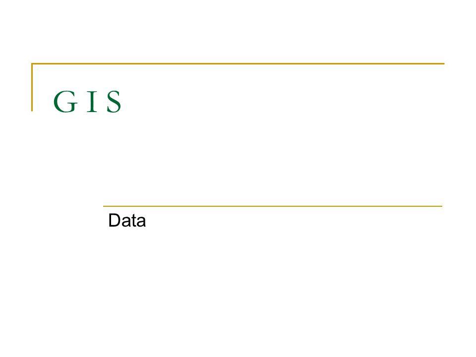 G I S Data