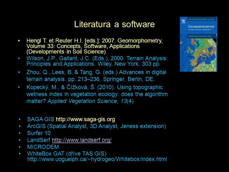 Literatura a software