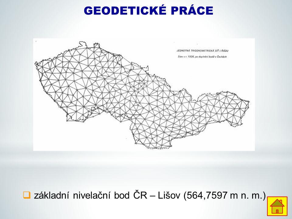základní nivelační bod ČR – Lišov (564,7597 m n. m.)