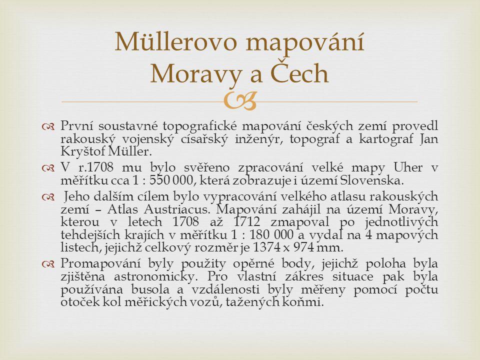 Müllerovo mapování Moravy a Čech