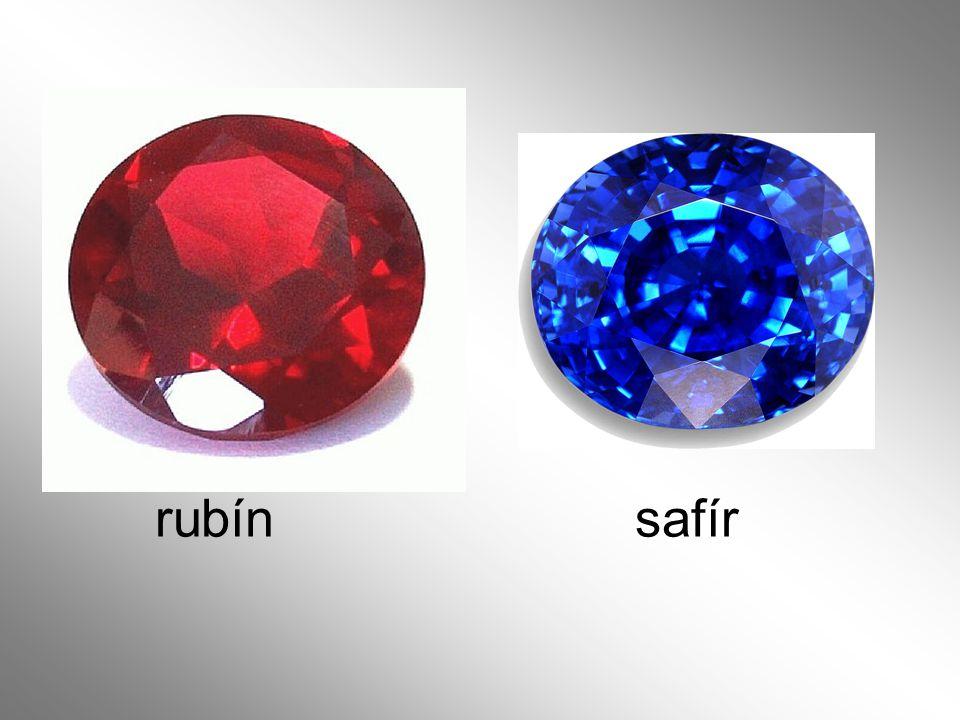 rubín safír