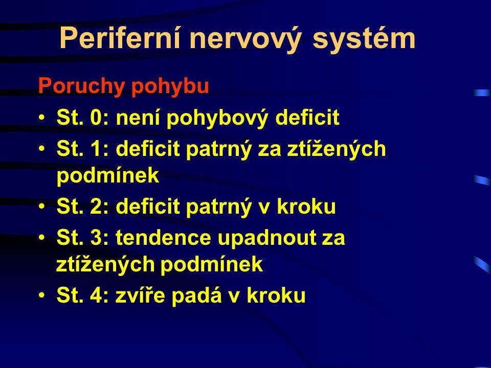 Periferní nervový systém