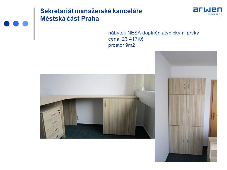 Sekretariát manažerské kanceláře Městská část Praha