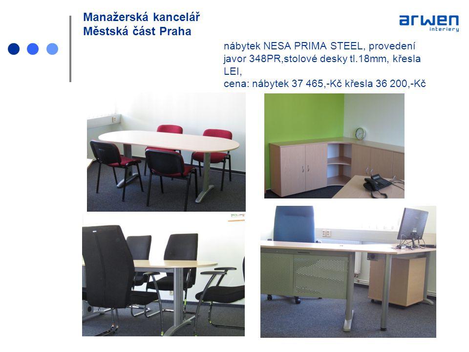 Manažerská kancelář Městská část Praha
