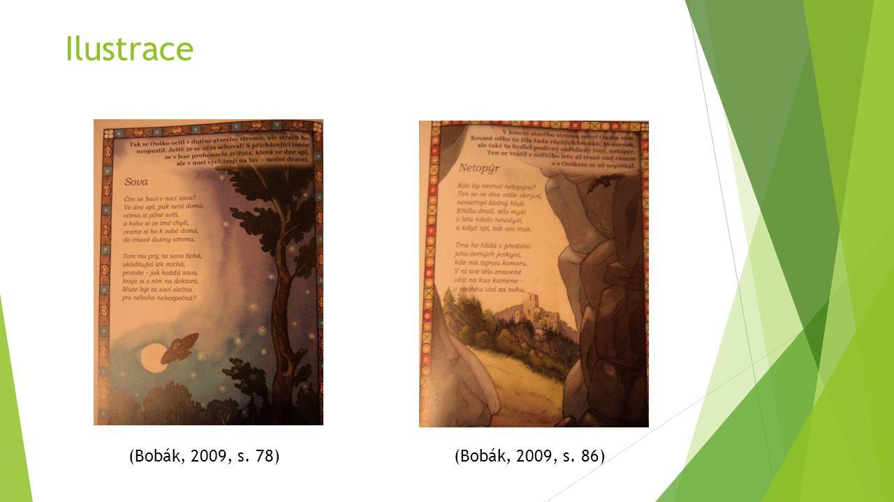 Ilustrace (Bobák, 2009, s. 78) (Bobák, 2009, s. 86)