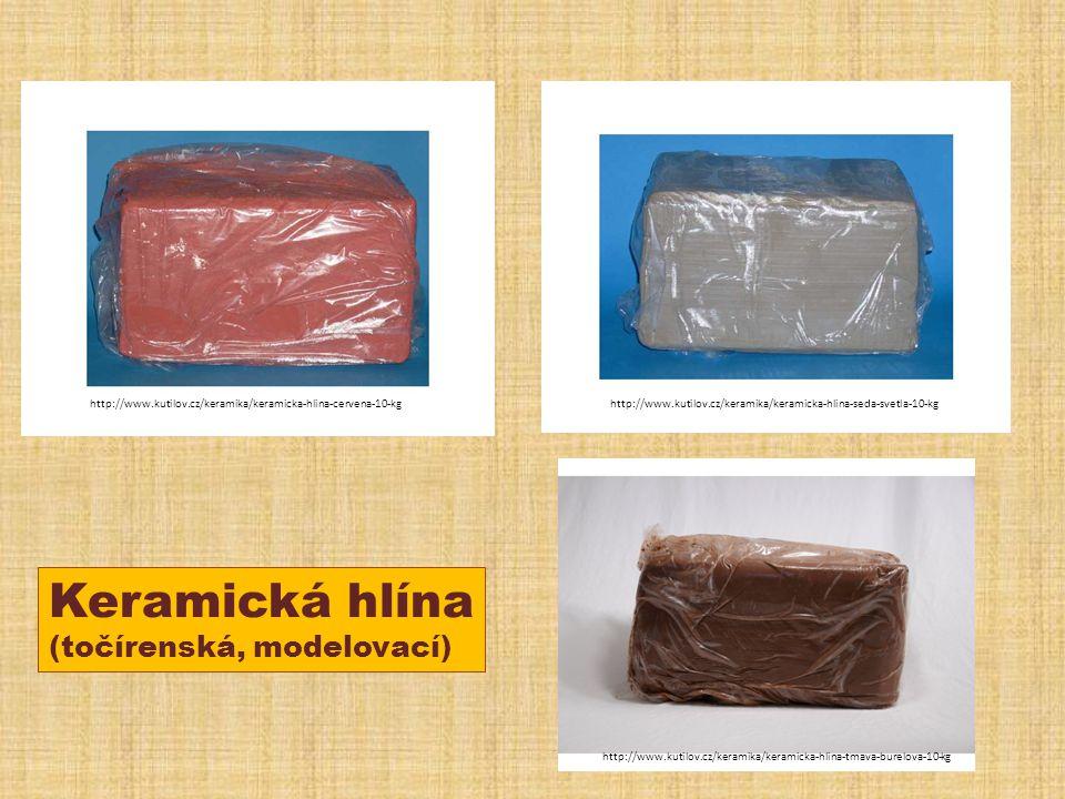 Keramická hlína (točírenská, modelovací)