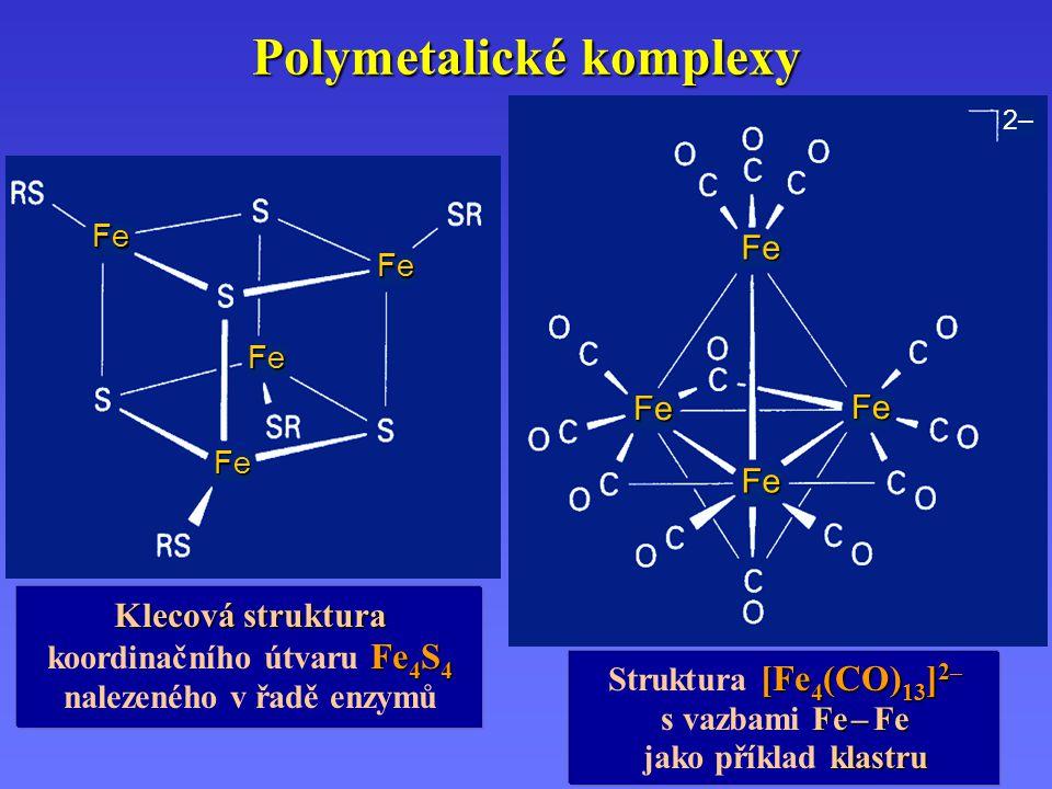 Polymetalické komplexy