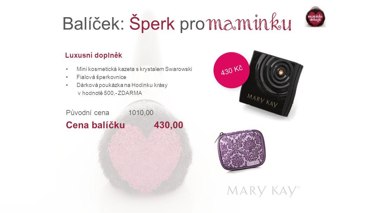 Balíček: Šperk pro Cena balíčku 430,00 Luxusní doplněk