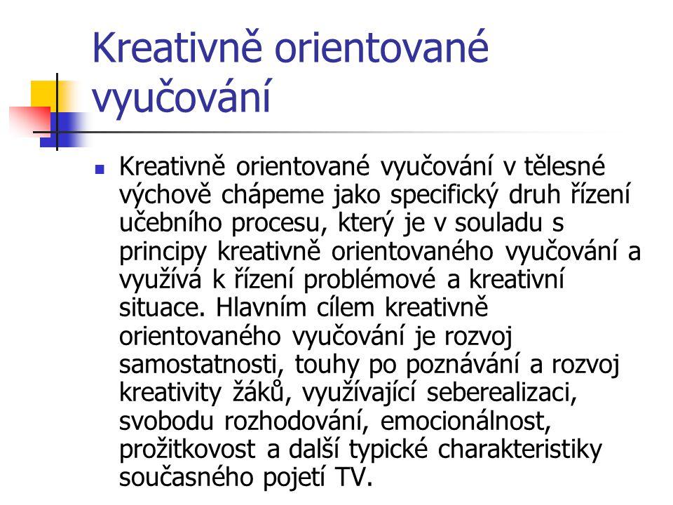 Kreativně orientované vyučování