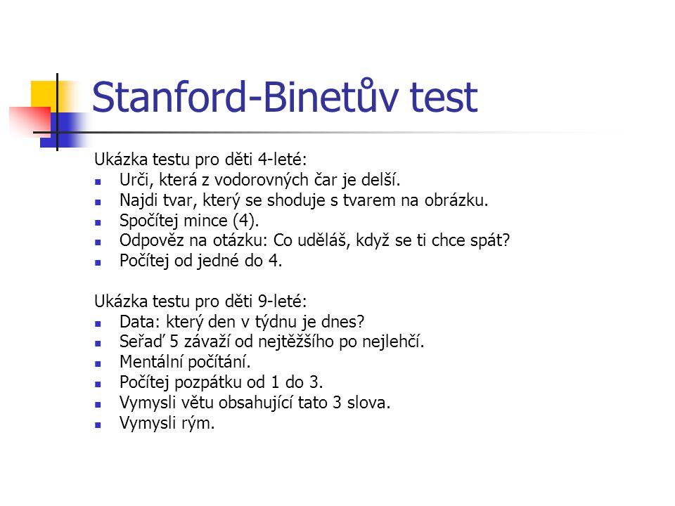 Stanford-Binetův test