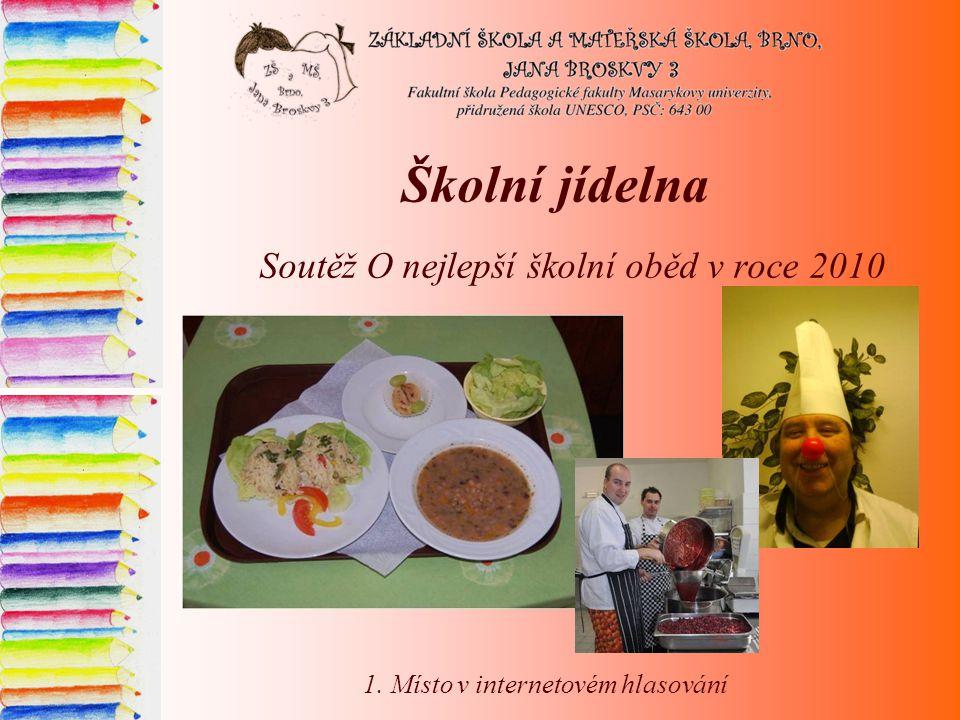 Soutěž O nejlepší školní oběd v roce 2010