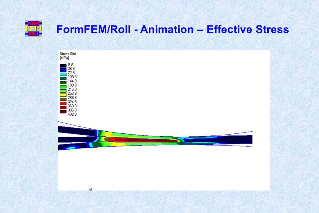 FormFEM/Roll - Animation – Effective Stress