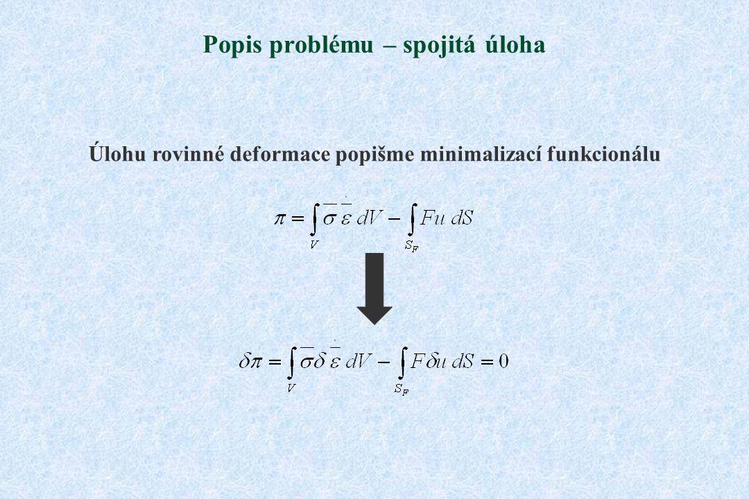 Popis problému – spojitá úloha