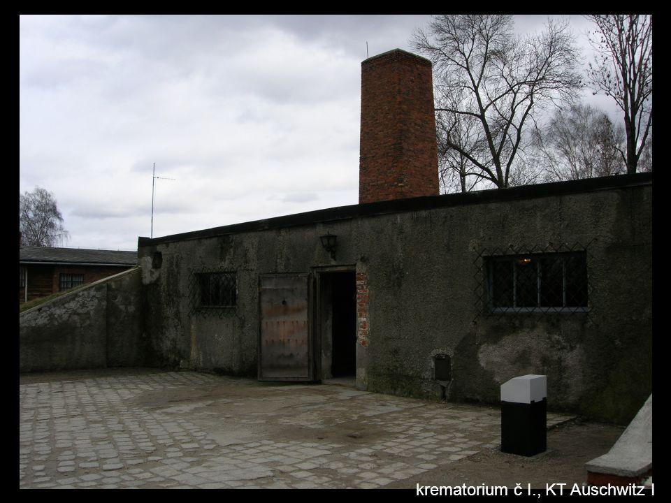 krematorium č I., KT Auschwitz I