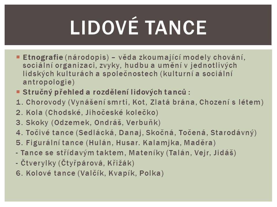 Lidové tance