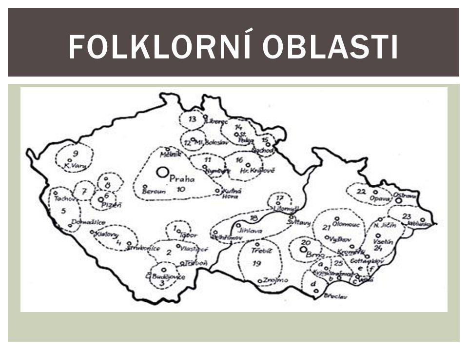 Folklorní oblasti
