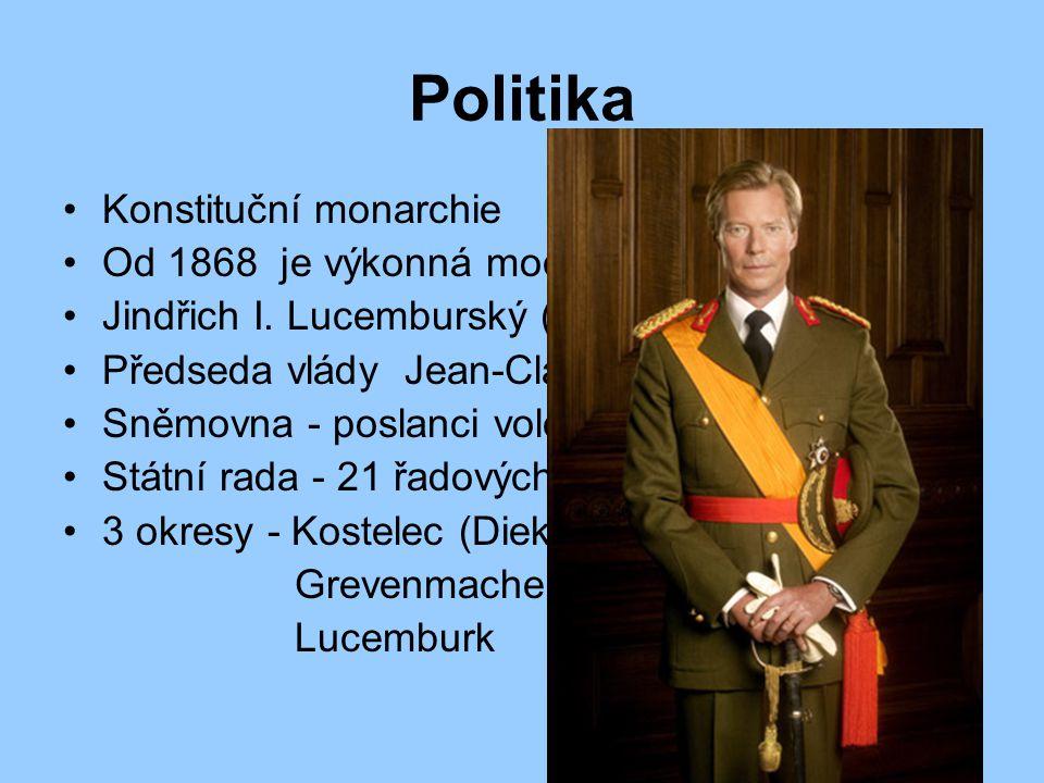 Politika Konstituční monarchie