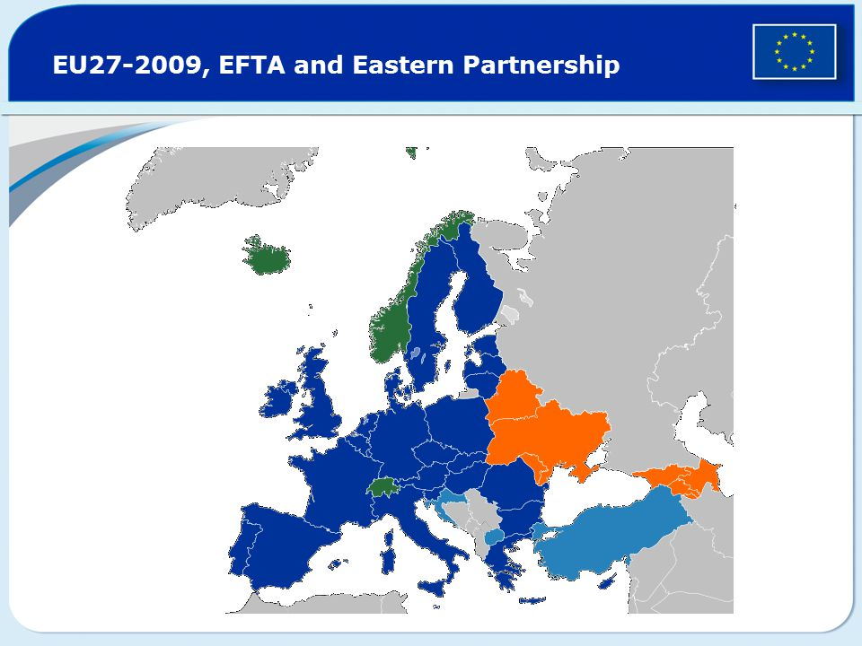 EU27-2009, EFTA and Eastern Partnership