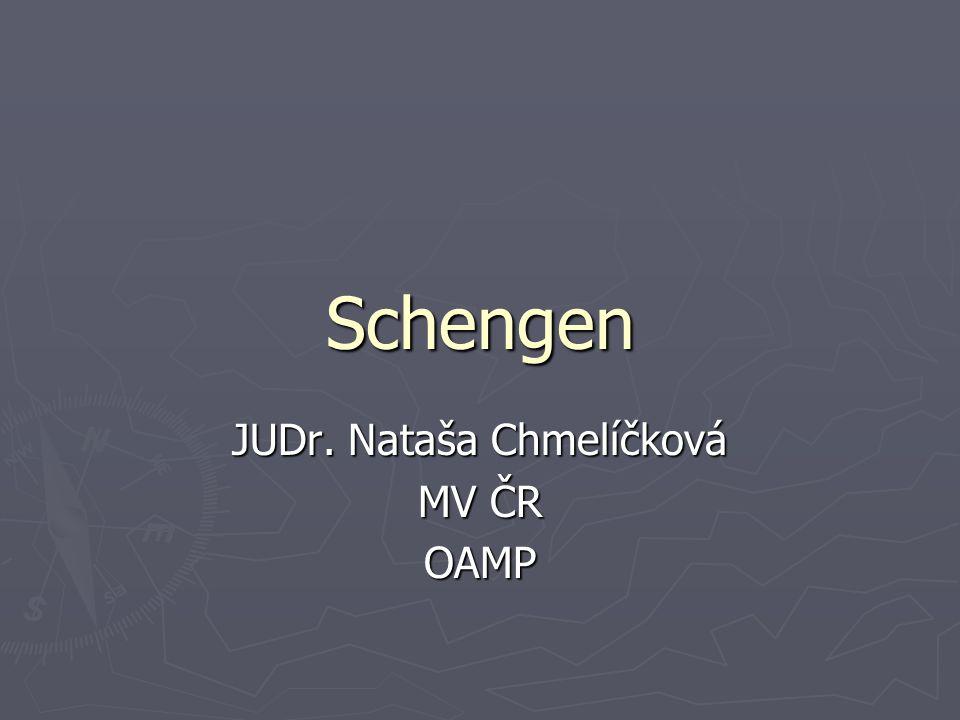 JUDr. Nataša Chmelíčková MV ČR OAMP