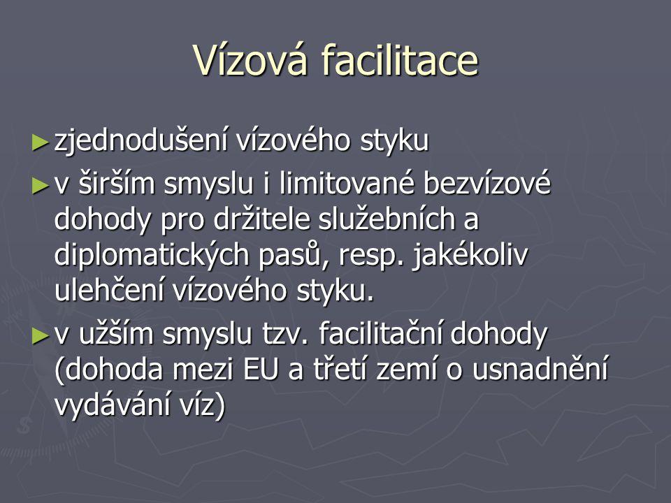 Vízová facilitace zjednodušení vízového styku
