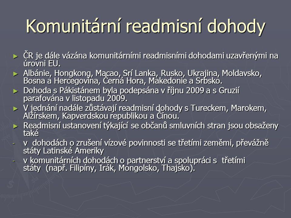 Komunitární readmisní dohody