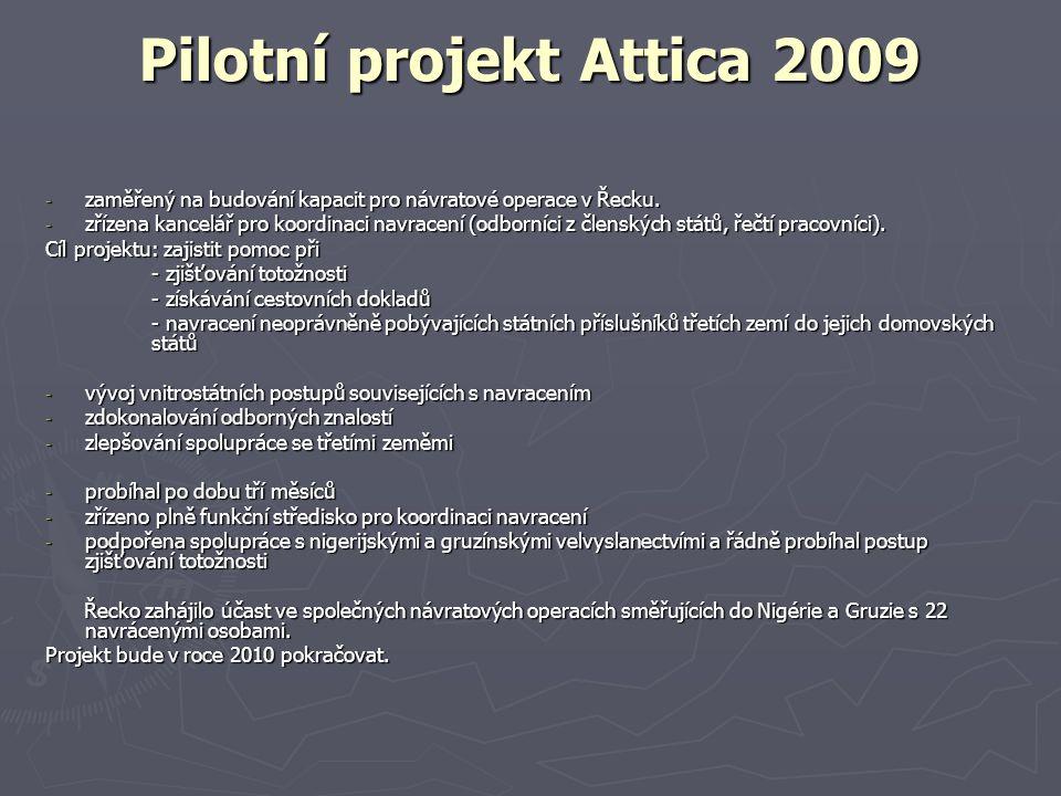 Pilotní projekt Attica 2009