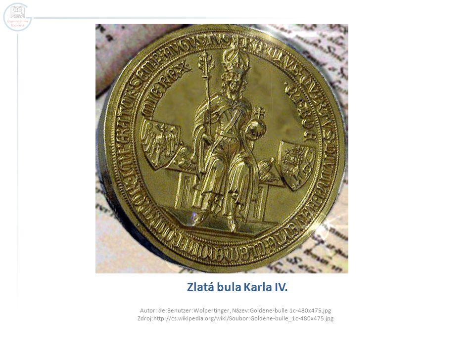 Zlatá bula Karla IV.