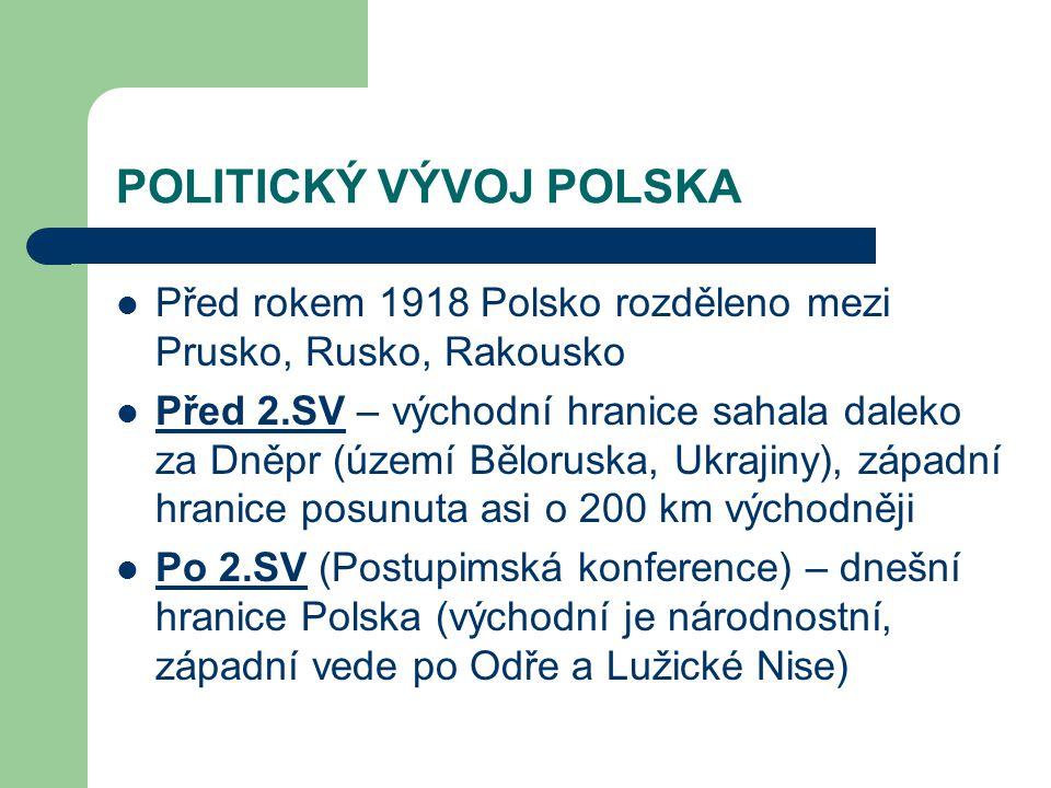 POLITICKÝ VÝVOJ POLSKA