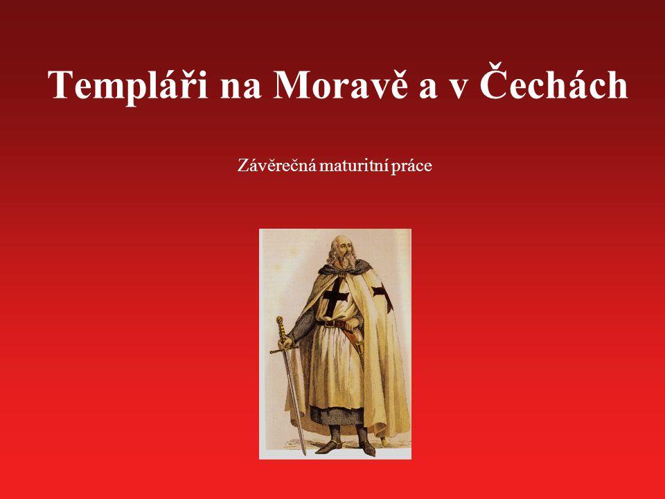 Templáři na Moravě a v Čechách