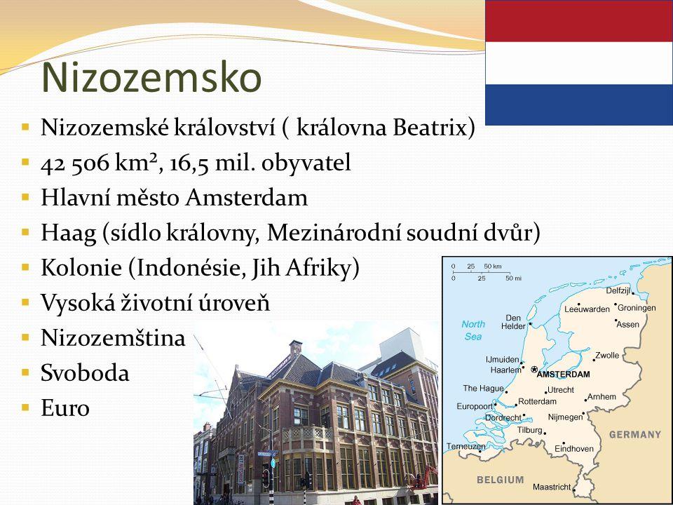 Nizozemsko Nizozemské království ( královna Beatrix)