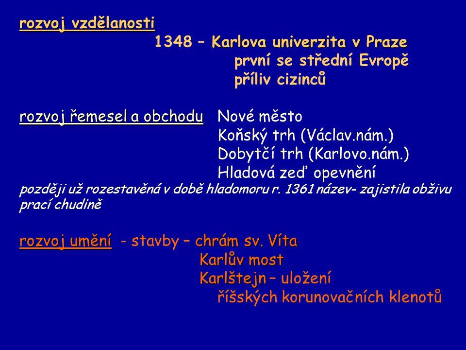 1348 – Karlova univerzita v Praze první se střední Evropě