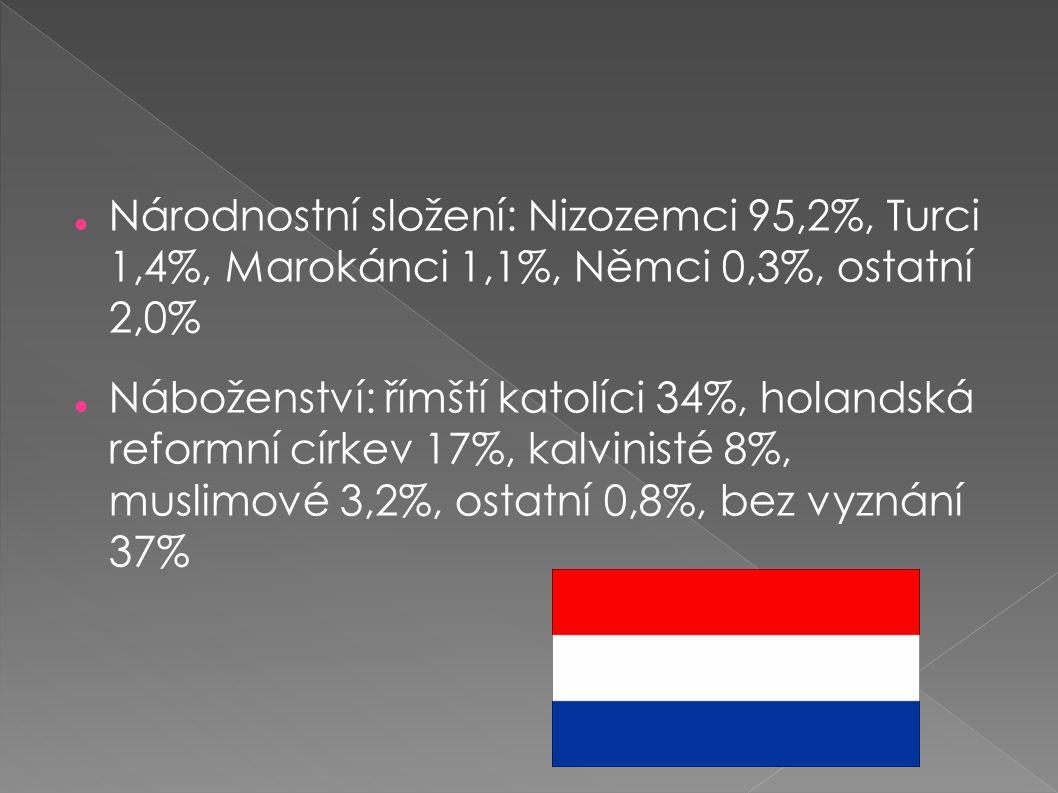 Národnostní složení: Nizozemci 95,2%, Turci 1,4%, Marokánci 1,1%, Němci 0,3%, ostatní 2,0%