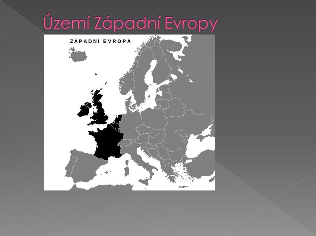 Území Západní Evropy