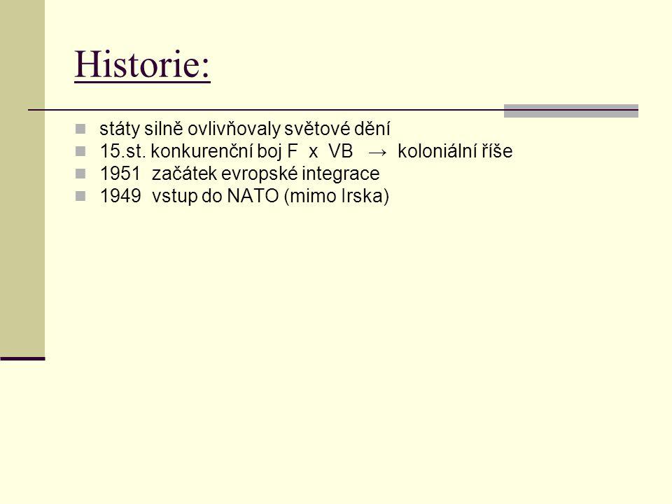 Historie: státy silně ovlivňovaly světové dění