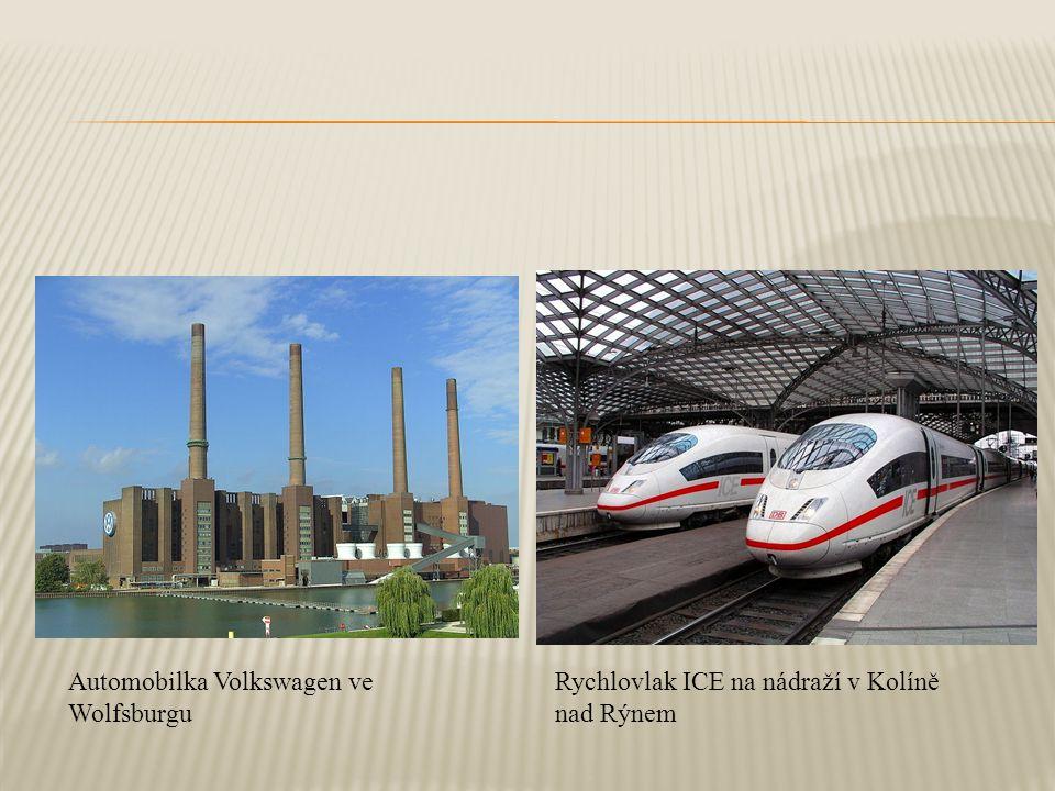 Automobilka Volkswagen ve Wolfsburgu