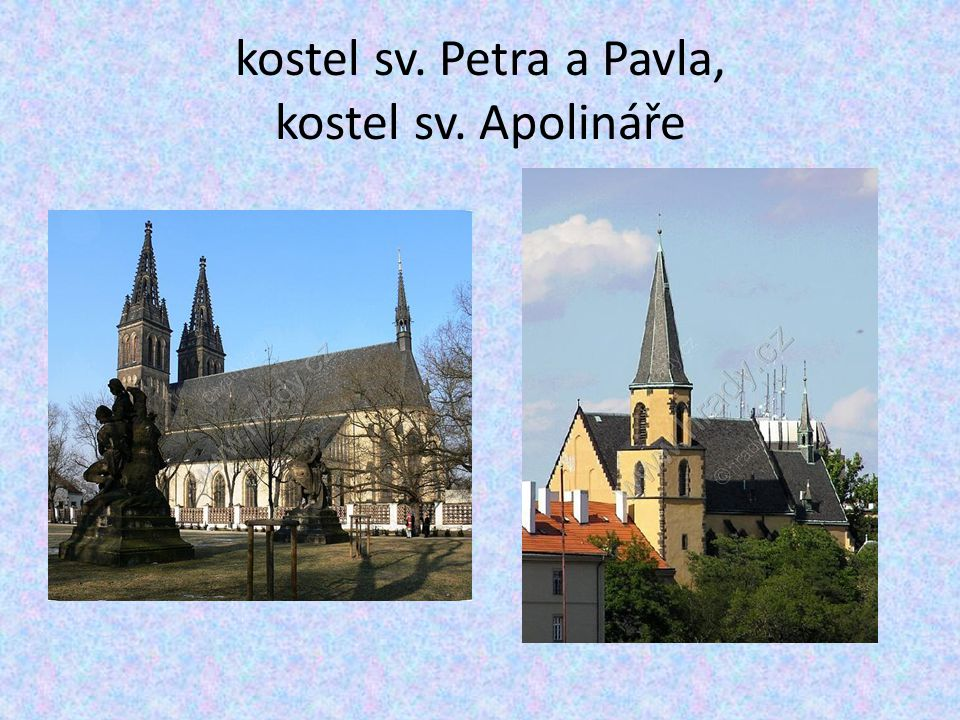 kostel sv. Petra a Pavla, kostel sv. Apolináře